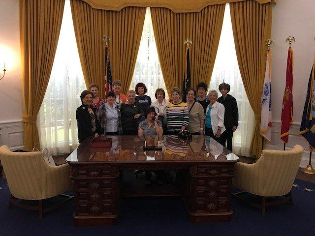 Study Group 112 at the Nixon Library
